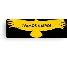Vamos Nairo Quintana : TDF Yellow Logo Canvas Print