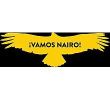 Vamos Nairo Quintana : TDF Yellow Logo Photographic Print