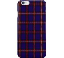 00434 Bacon Blue Tartan iPhone Case/Skin
