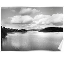 Tittesworth Reservoir The Peak District Poster