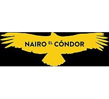 "Nairo Quintana ""El Condor"" : TDF Yellow Logo Photographic Print"
