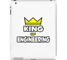 King of Engineering iPad Case/Skin