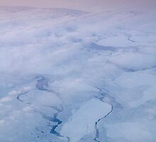 Arctic sunset over Hudson Bay by BeardyGit