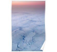 Arctic sunset over Hudson Bay Poster
