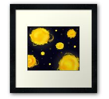 Sleeping under the stars Framed Print