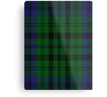 00435 Bailey Atlanta National Tartan  Metal Print
