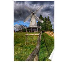 Woodchurch Windmill Poster