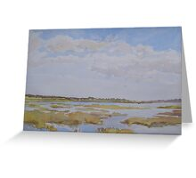 Essex salt marshes Greeting Card