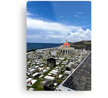 San Juan Cemetery - San Juan Puerto Rico Metal Print