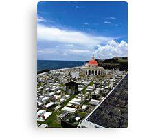 San Juan Cemetery - San Juan Puerto Rico Canvas Print