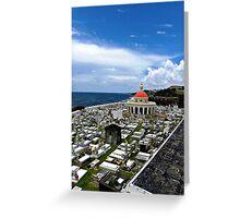 San Juan Cemetery - San Juan Puerto Rico Greeting Card