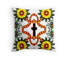 Sunny Side Up (For Those Tired of Life's Wintery Chill) Throw Pillow