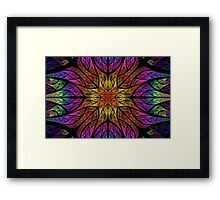 Julian Splits Elliptic Framed Print