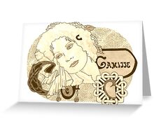Camille Greeting Card