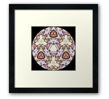 Jesus Christ, Son of God Kaleidoscope Framed Print
