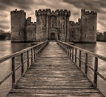 Bodiam Castle by JMHPhotography