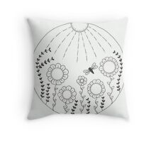 The World is our Garden Throw Pillow