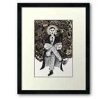 Richtofen & The Voices Framed Print