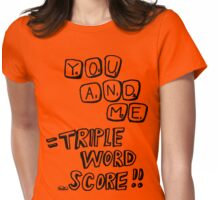 Triple Word Score Womens Fitted T-Shirt