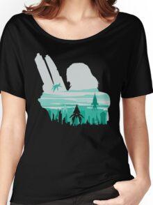 Reaper invasion of Earth (Femshep) Women's Relaxed Fit T-Shirt