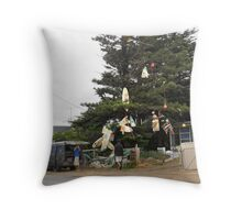 After the big wave Throw Pillow