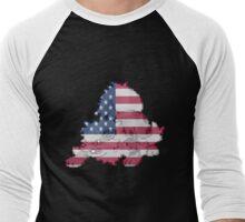 Launch a Flare Blitz into Communism Men's Baseball ¾ T-Shirt