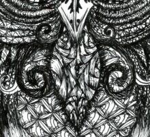 Intricate Owl Sticker