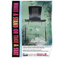 Adelaide Fringe 2011 - Make a Stand or Take a Seat Poster