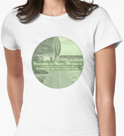 Vuvalini of Many Mothers Womens Fitted T-Shirt