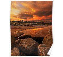 Sunset Esperance Poster