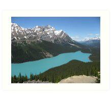 Peyto Lake, Icefields Parkway, Banff National Park Art Print