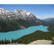 Peyto Lake, Icefields Parkway, Banff National Park Photographic Print