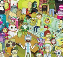 Where's Rick? Sticker