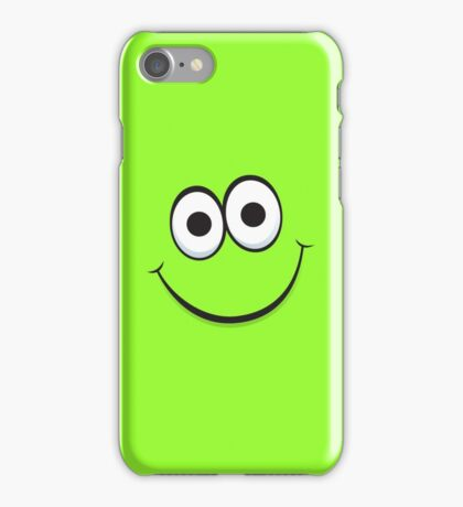 Happy green face iPhone case iPhone Case/Skin