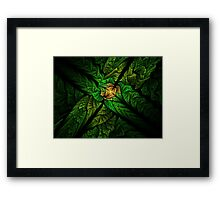 Strangled Framed Print