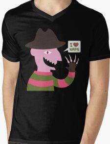 I Love Naps Mens V-Neck T-Shirt