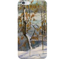 Snow fell iPhone Case/Skin