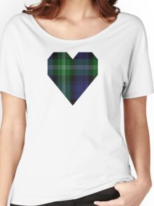00440 Baillie of Polkemment Clan/Family Tartan  Women's Relaxed Fit T-Shirt