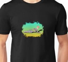 Abstract Female On The Beach Unisex T-Shirt