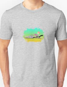 Abstract Female On The Beach T-Shirt