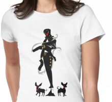 Full Deck: The Eight of Diamonds Womens Fitted T-Shirt