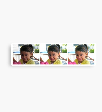 "Photoshop HDR Pro ""Pretty Girl"" Canvas Print"
