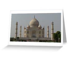 Taj - One of the 7 wonders of the world! Greeting Card