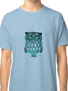 cyan owl Classic T-Shirt