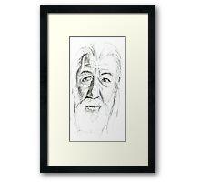 Gandalf - Ian McKellen Framed Print
