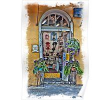 French Quarter Jewlery Shop Poster