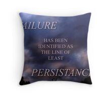 FAILURE (6) Throw Pillow