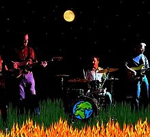 Burt Herrin and the Global Warming Band by Carla Jensen