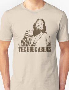 The Big Lebowski The Dude Abides T-Shirt T-Shirt