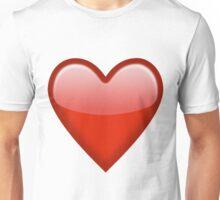 heart emoji Unisex T-Shirt